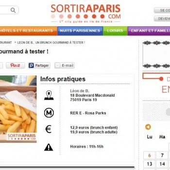 Sortir à Paris : Leon de B., un brunch gourmand à tester !