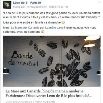 Découverte: Leon de B le plus branché des fast good parisien