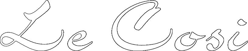 Logo Le Cosi