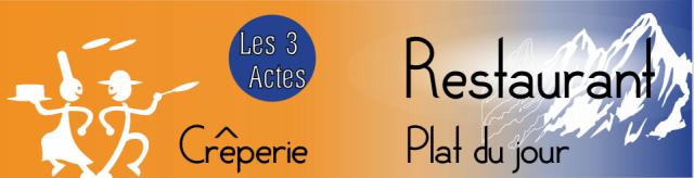 Crêperie les 3 actes
