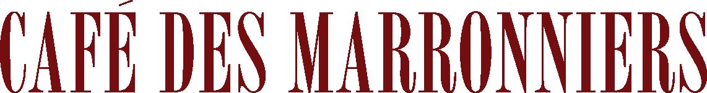 Logo Café des Marronniers