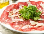 Photo Carpaccio de bœuf  - café de La table ronde