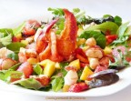 Photo salade Caesar au Homard - café de La table ronde