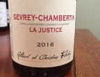 "Photo Felettig - Gevrey Chambertin ""La Justice""  - café de La table ronde"