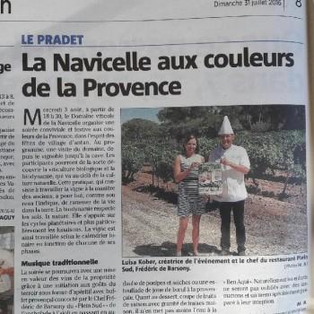 La Navicelle aux couleurs de la Provence