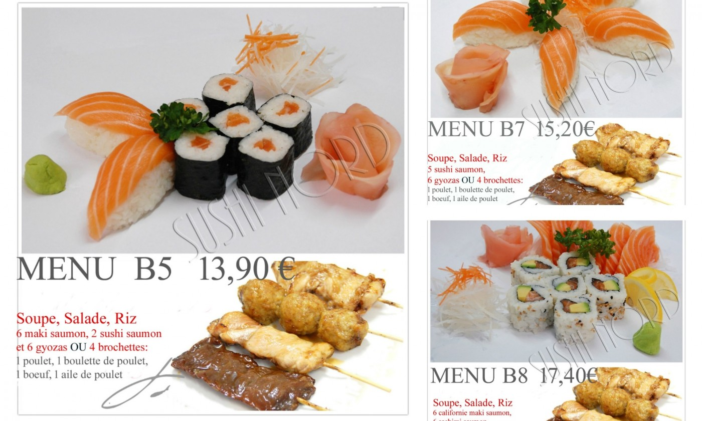 Super Photos, atmosphere, dishes - Sushi Nord - Bethune SG92