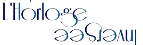 Logo L'Horloge Inversée