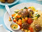Photo Couscous boulettes de boeuf - La Table de Sam