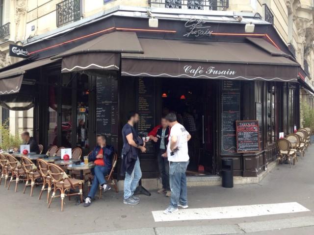 Le Café fusain