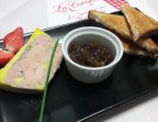 Photo Foie gras de canard maison, confit d'oignons - La Cocotte