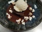 Photo fondant chocolat et beurre de cacahuètes - La Cocotte