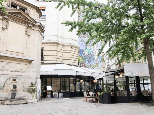 La terrasse des archives / Traditional Restaurant / Paris