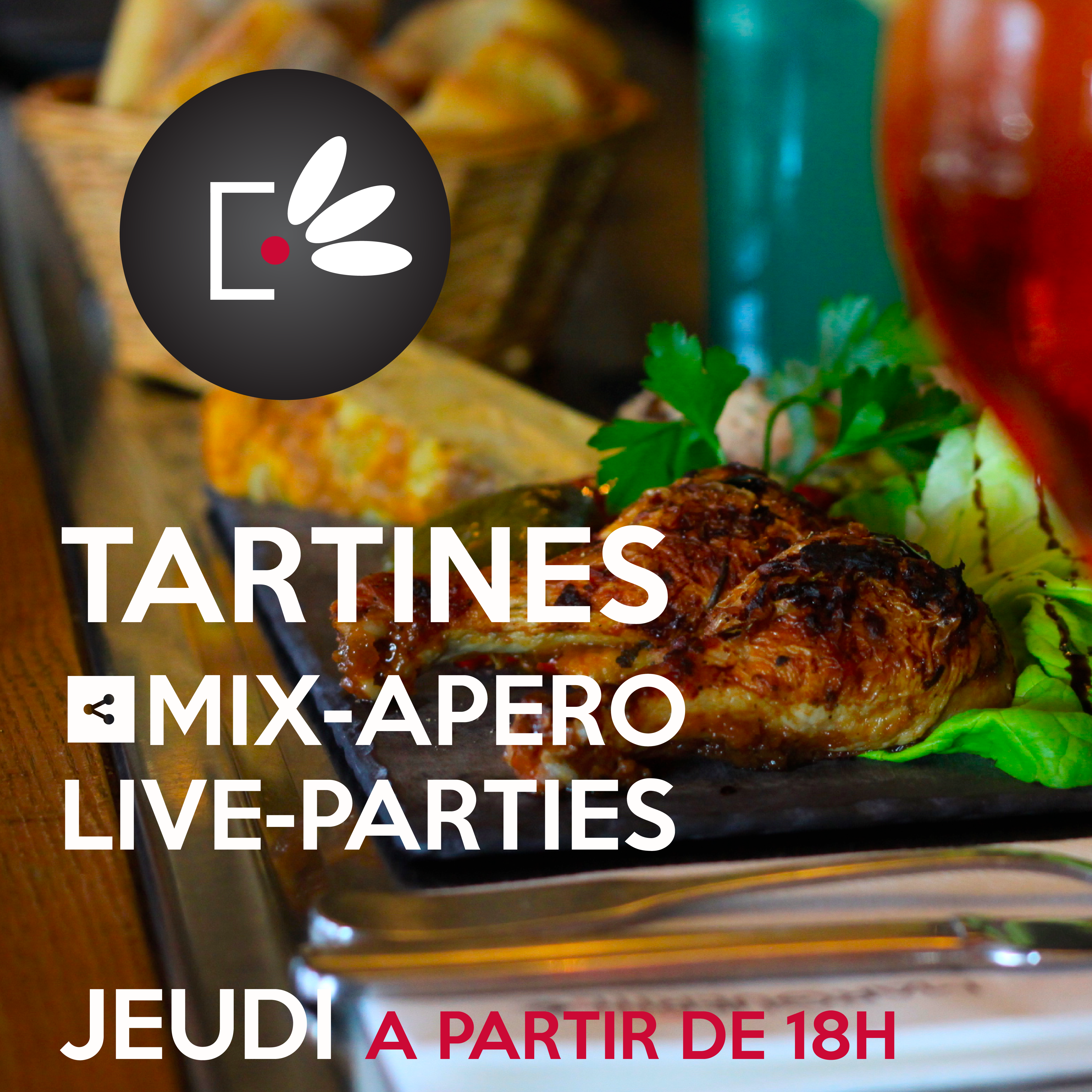 TARTINE MIX APERO LIVE TARTINES