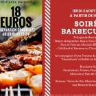 Soirée Barbecue Jeudi 3 Août 2017