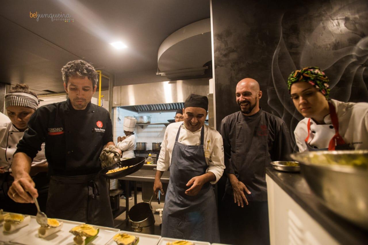 Diner de chefs AUTOUR du Brésil