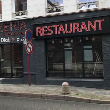 Hazebrouck La pizzeria Diablo Pizza en travaux pour doubler son nombre de couverts