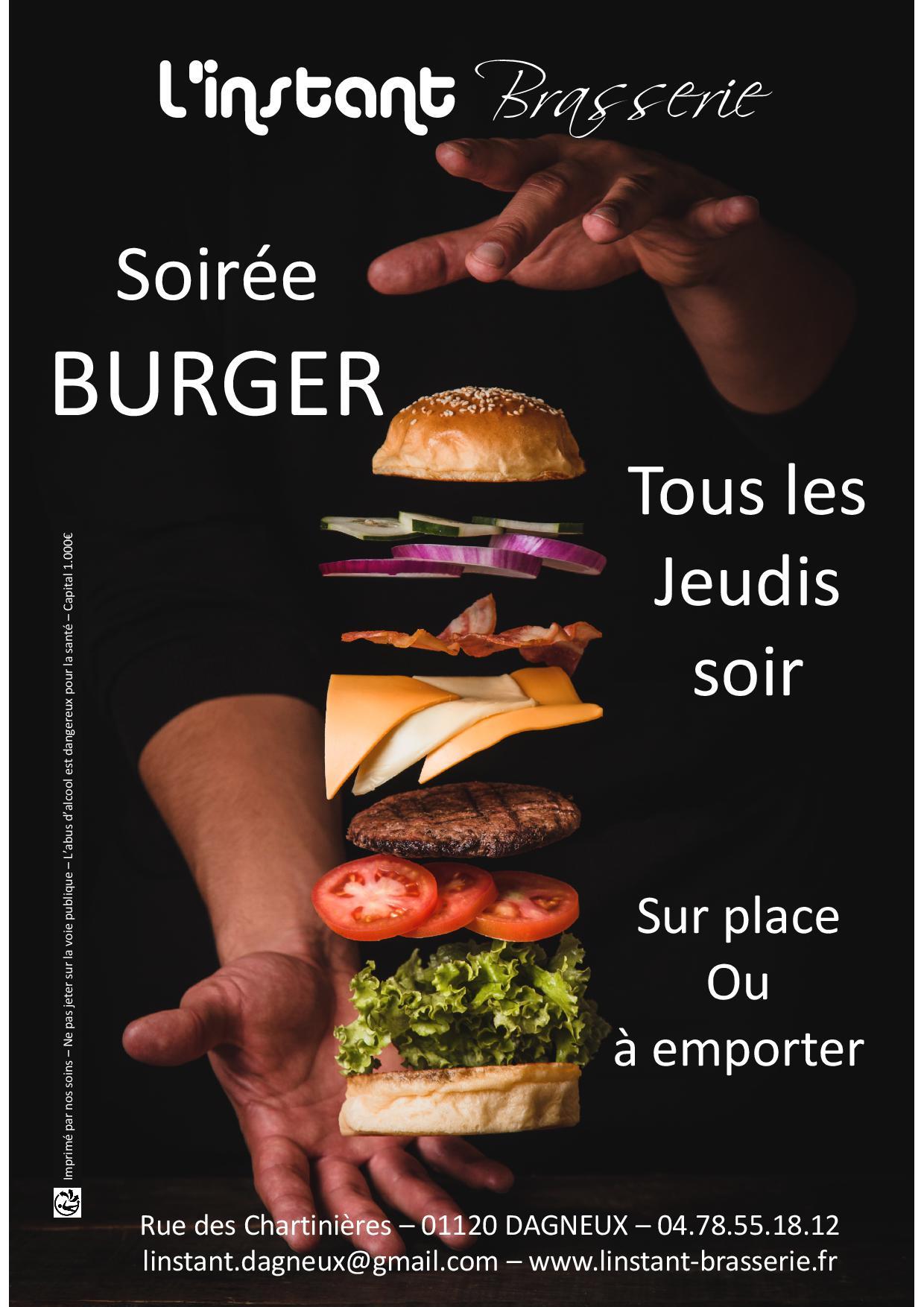 Soirée BURGER