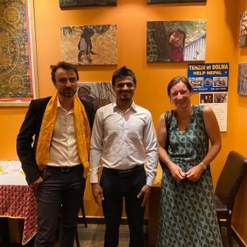 Grégory Doucet au restaurant La Voie Himalaya