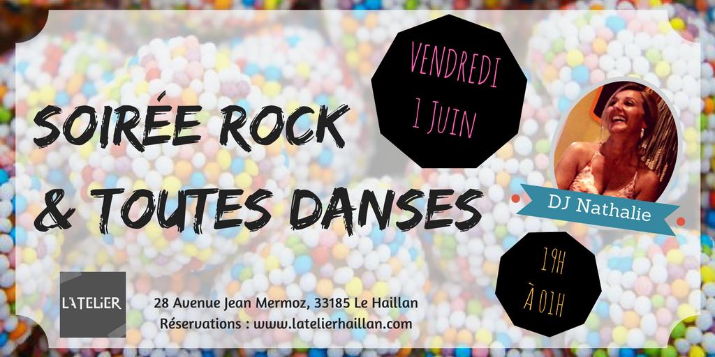 Soirée Rock et Toutes Danses avec Nathalie