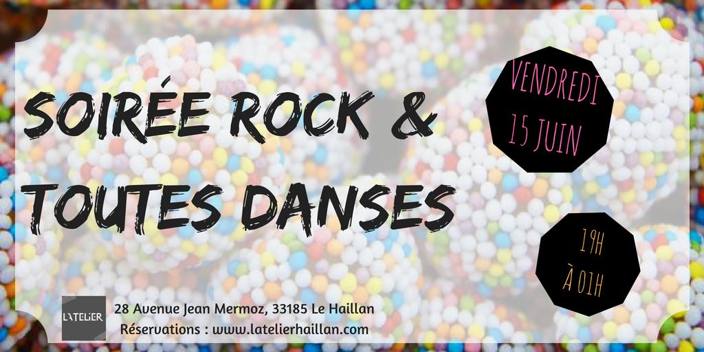 Soirée Rock & Toutes Danses !