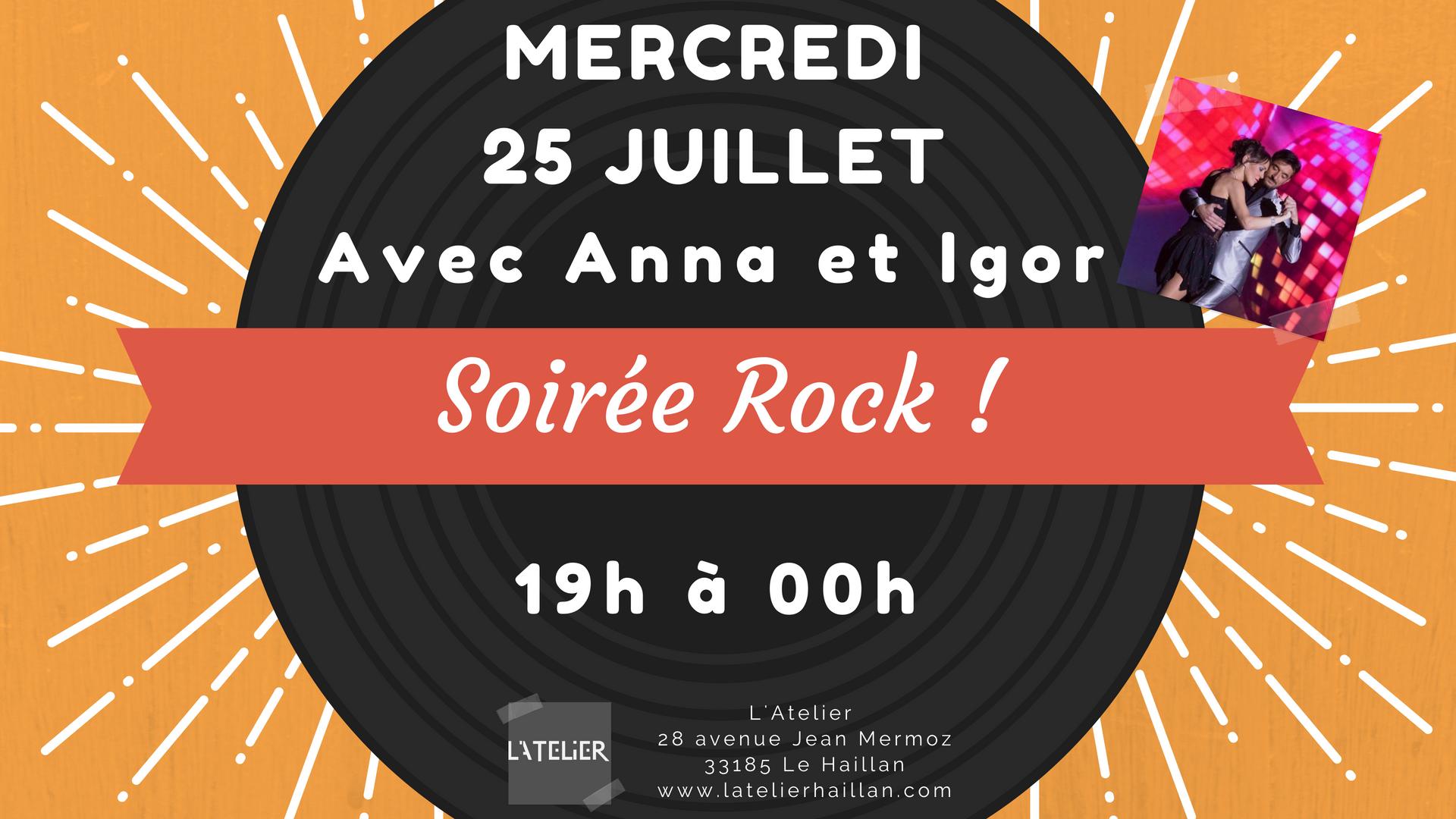 Soirée Rock avec Anna et Igor