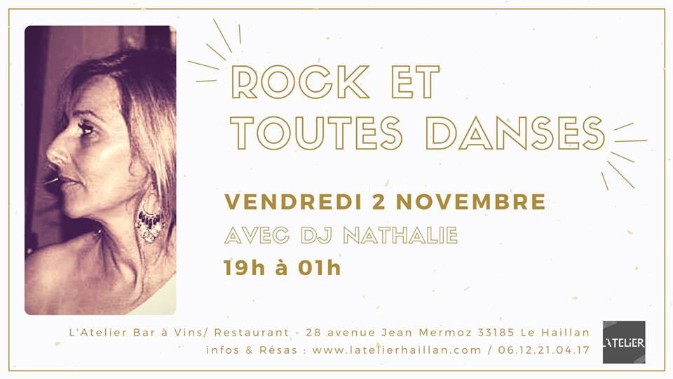Soirée Rock et Toutes Danses avec DJ Nathalie