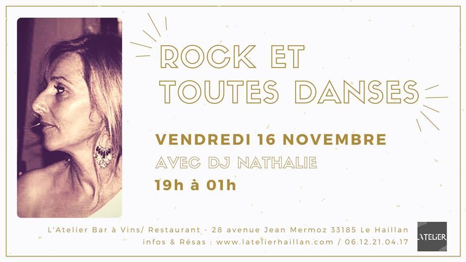 Soirée Rock & Toutes Danses avec Nathalie !