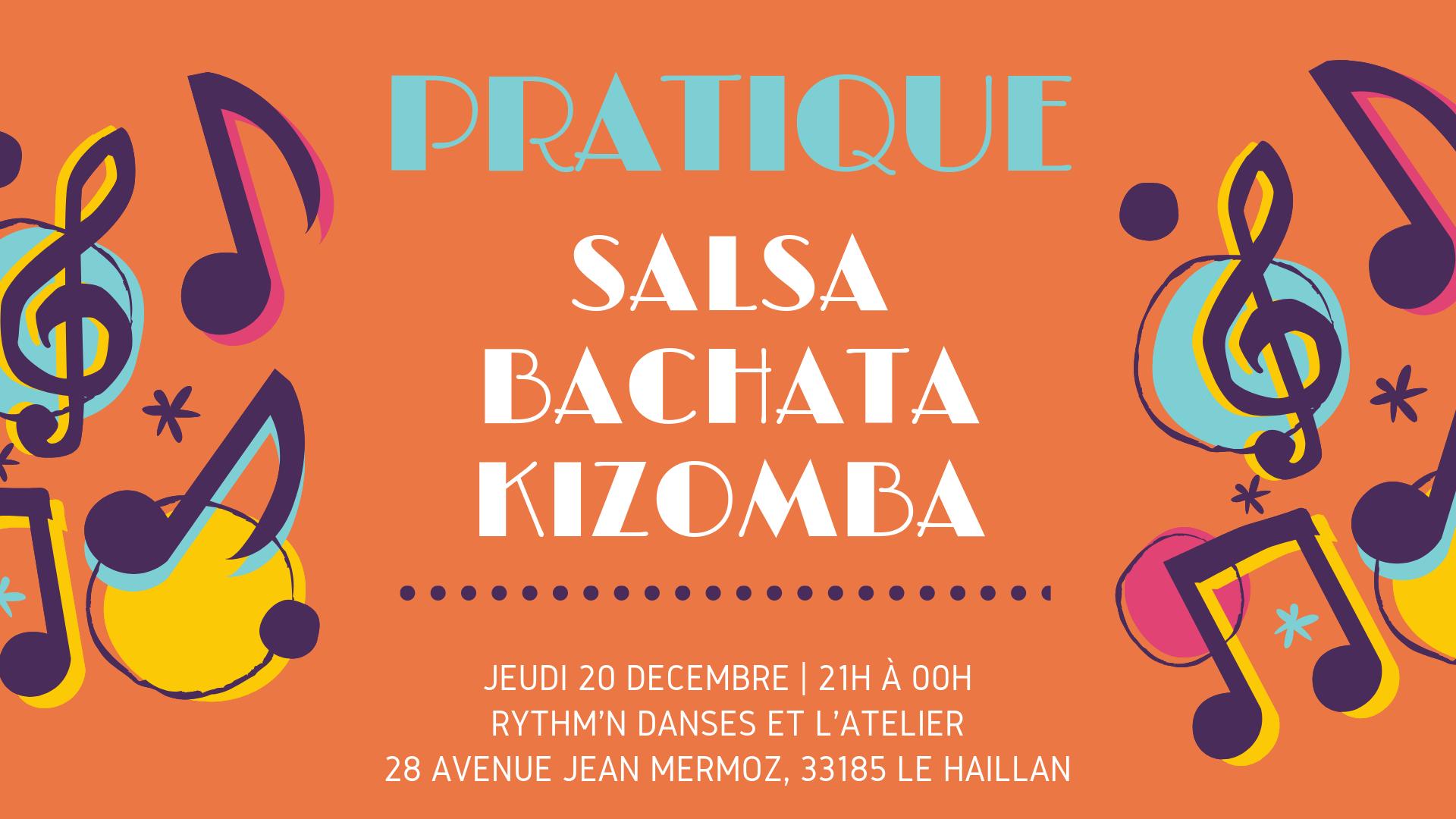 Pratique Salsa, Bachata, Kizomba avec Anna et Igor