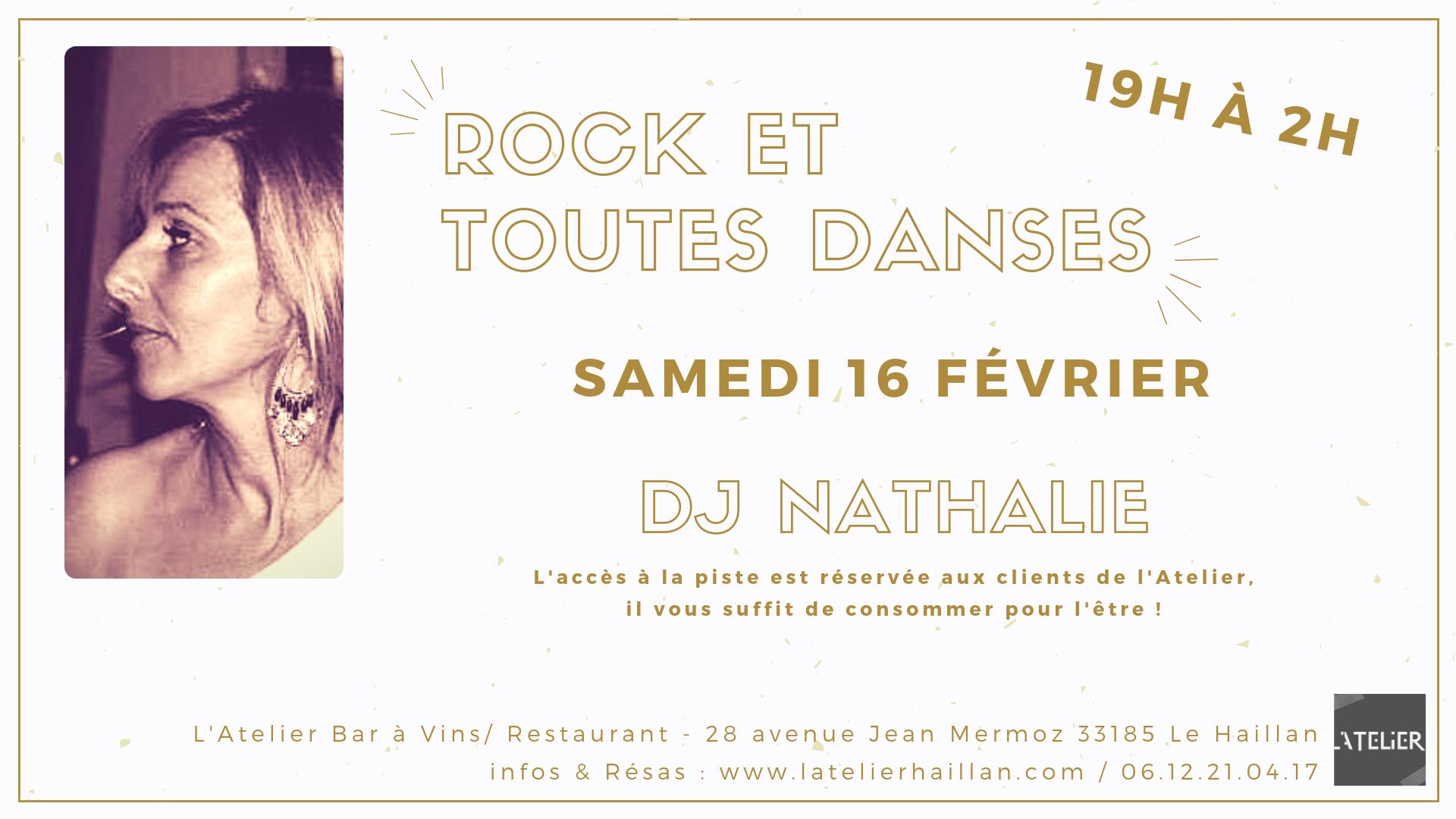 Soirée Rock & Toutes Danses avec Nathalie