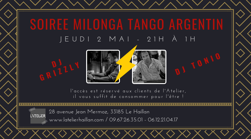 Milonga Tango Argentin Tonio VS Laurent Le Grizzly