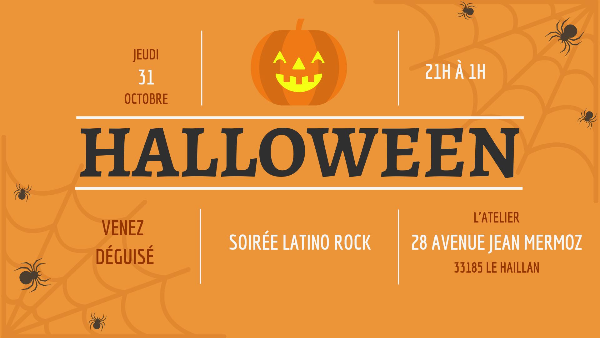 Soirée Halloween Latino Rock - Déguisez vous !
