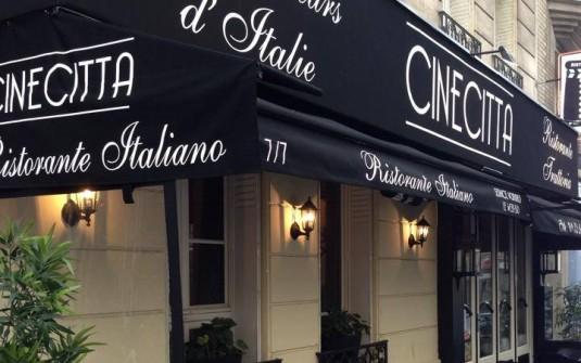 cinecitta restaurant italien paris. Black Bedroom Furniture Sets. Home Design Ideas