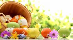 Menu du dimanche de Pâques, 21 avril 2019