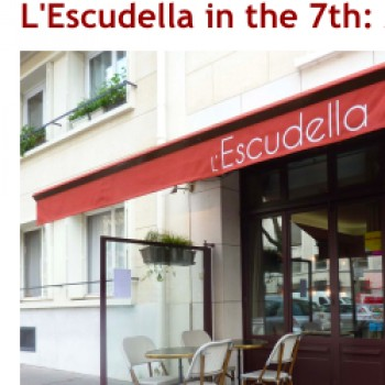 John Talbott's Paris - L'Escudella in the 7th: Man, can this Dude cook.