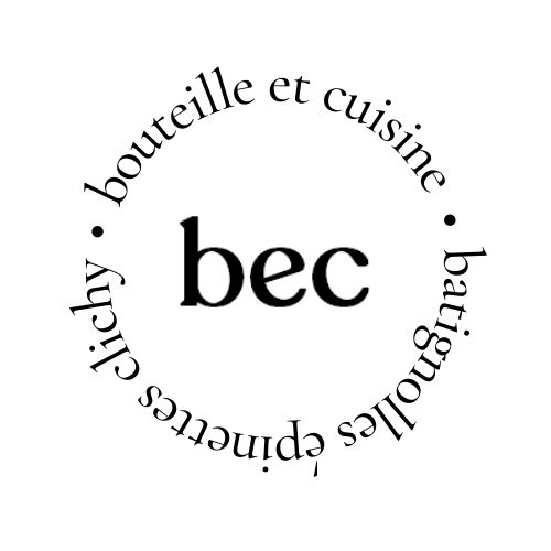 Logo Bec // bouteille et cuisine par Marius et Lucien
