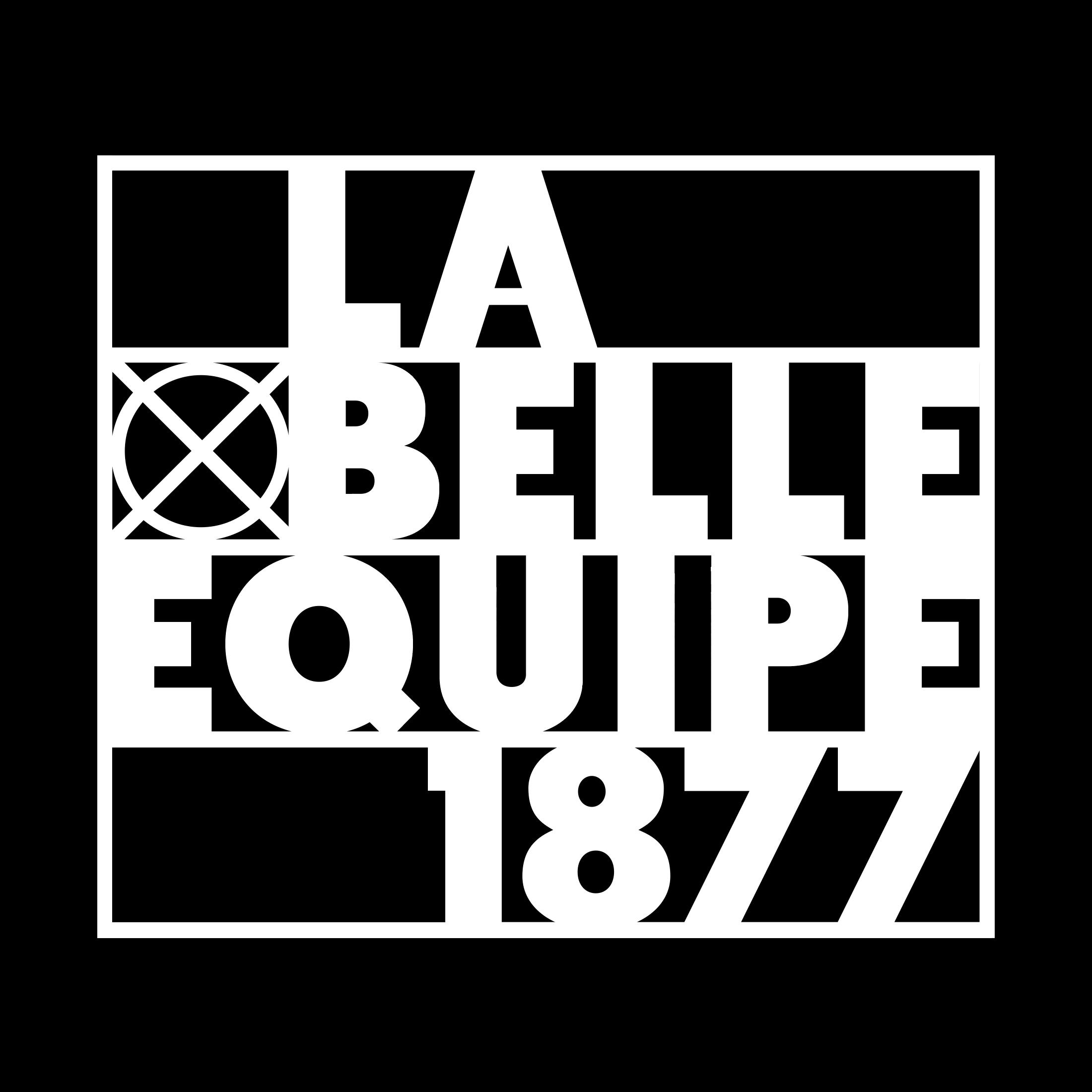 Logo LA BELLE EQUIPE 1877