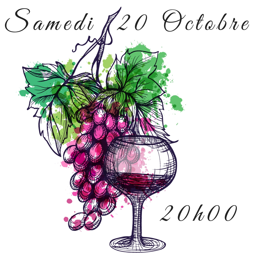 Initiation d'Oenologie - Samedi 20 Octobre 20H
