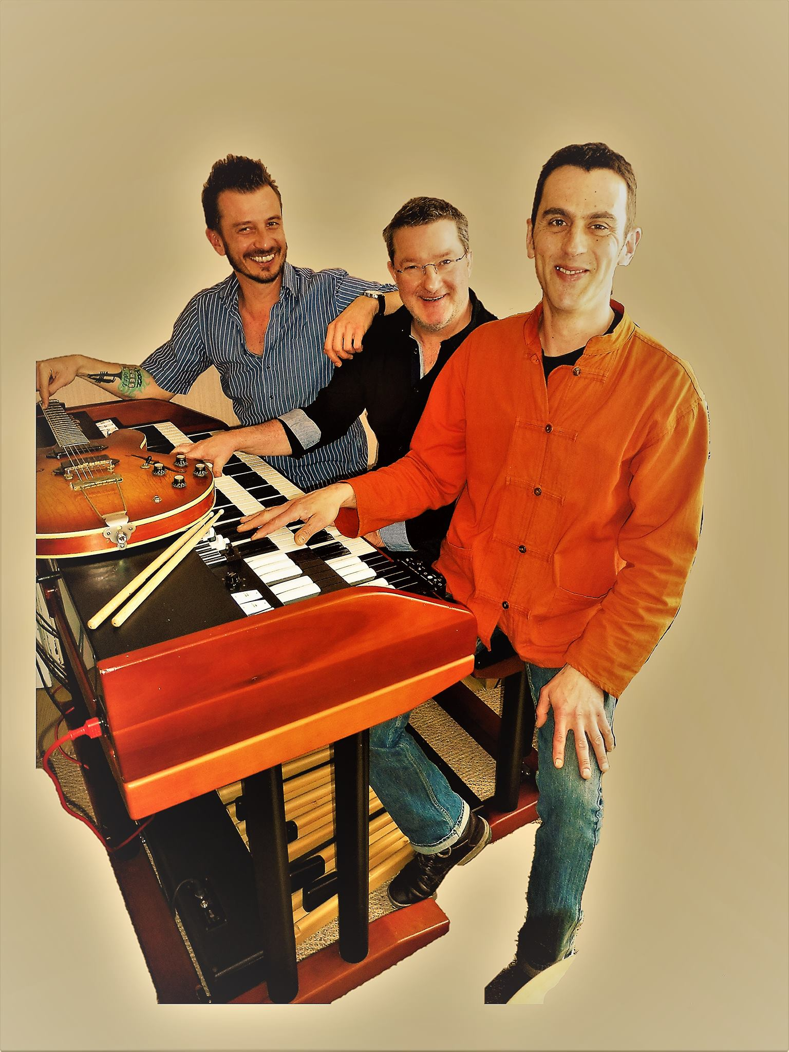 Vendredi 5 Avril à 20H - BLUES ORGAN COMBO