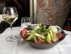 Photo Salade fraîcheur, croquettes de lentilles blondes de Saint Flour - Bistrot Auvergnat