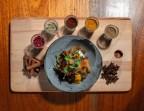 Photo Carottes confites aux épices, yaourt de soja* façon fromage frais - Bistrot Auvergnat