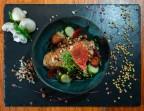 Photo Volaille d'Auvergne Label Rouge à l'aneth, cuisson basse température, fregola sarda, noisettes - Bistrot Auvergnat
