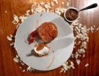 Photo Choux craquelin à la crème de marrons d'Ardèche, glace à l'amande*  - Bistrot Auvergnat