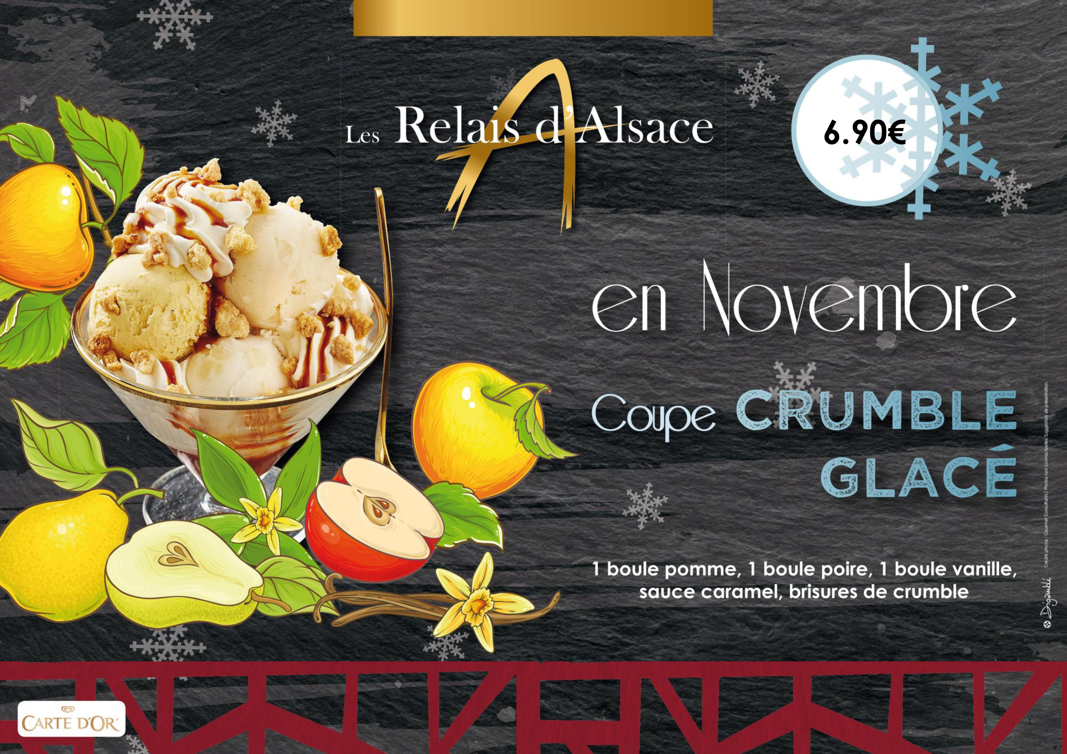 COUPE CRUMBLE GLACE