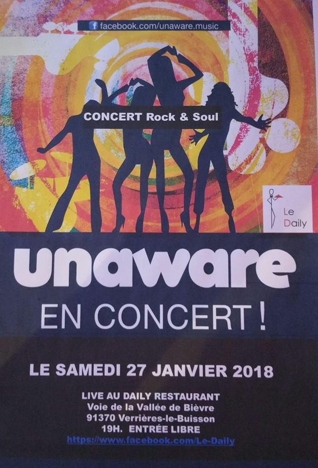 UNAWARE en concert ! Entrée libre