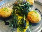 Photo Crabe Cake, fines herbes, Coriandre, Rouille maison  - LES MOULINS DE SAINT AYGULF
