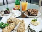 Photo ou Crevettes roses, riz ou légumes grillés - Saveurs Salines