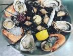 Photo « Assiette dégustation » Seafood platter - Saveurs Salines