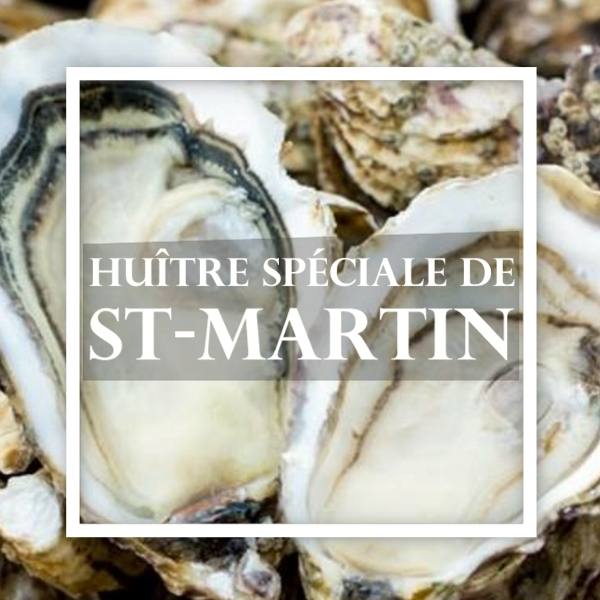 Savourez l'huître spéciale de l'île Saint-Martin