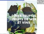 Photo Brillat Savarin aux Truffes noires, Salade truffée - Saveurs Salines