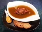 Photo Soupe de favouilles, crabes vert de Méditerranée - Saveurs Salines